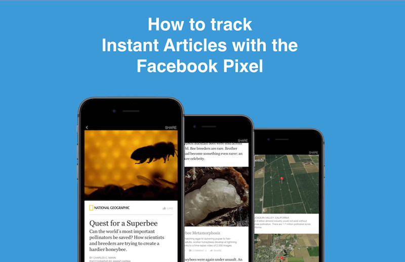 How to track Facebook Instant Articles with the Facebook pixel