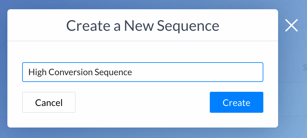 naming your sequence
