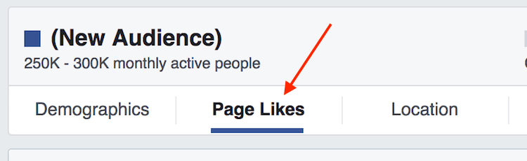 navigate to page likes